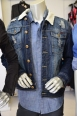 Layer denim over denim, for an interesting ensemble. WT: 02 Denim Jacket $89.00